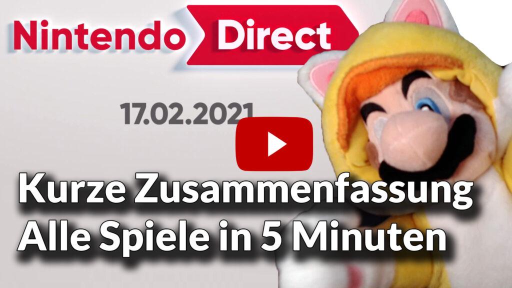 Nintendo direct alle spiele in 5 minuten play