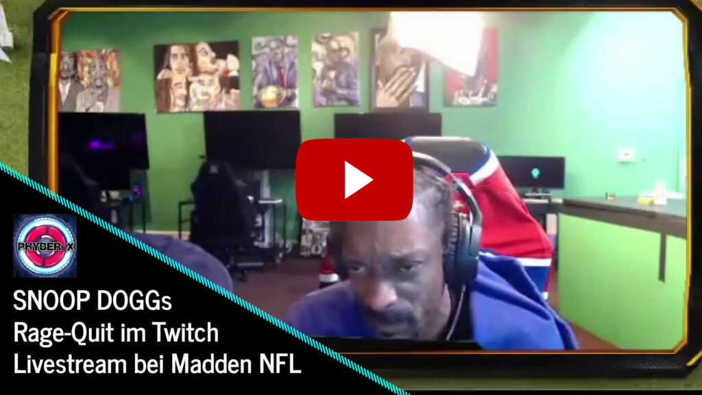Youtube Snoop Dogg Rage Quit Twitch Madden play
