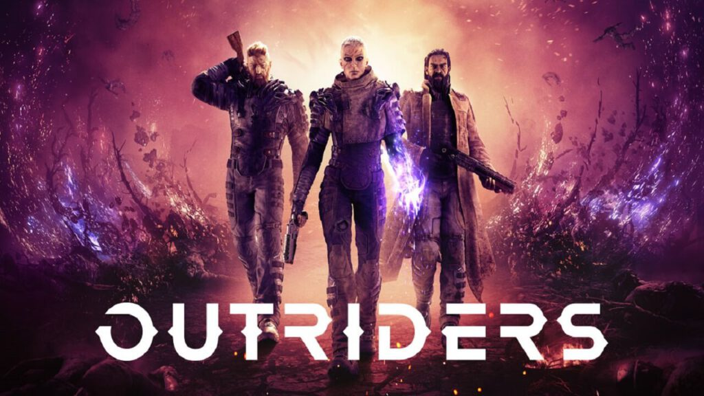 outriders. poster