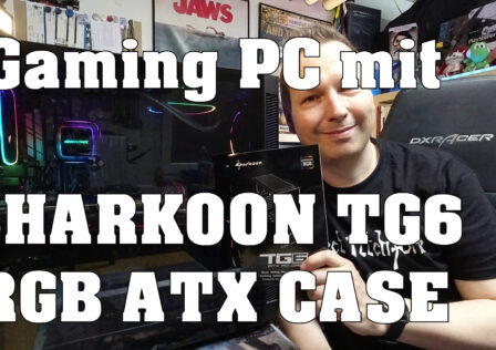Sharkoon TG6 Gaming PC Case Review
