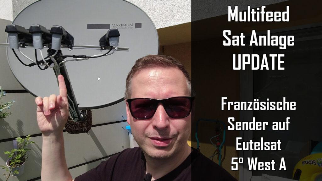 Multifeed Sat Anlage Update